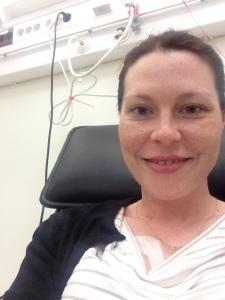 KLAR FOR EN NY ETAPPE: De fire siste cellegiftkurene skal jeg få på sykehuset i Stokmarknes. Kontrollene blir fortsatt på Haukeland.